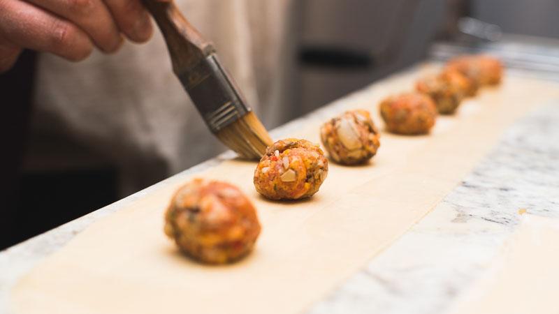 Edmonton blog pasta catering