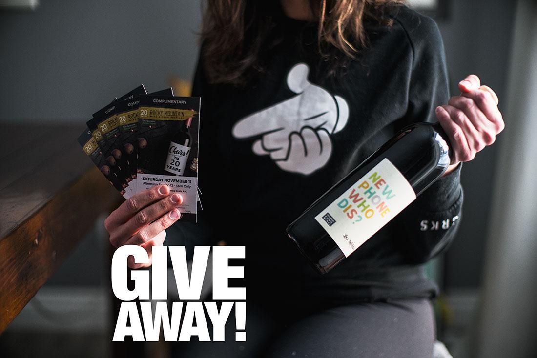 edmonton rocky food wine festival giveaway