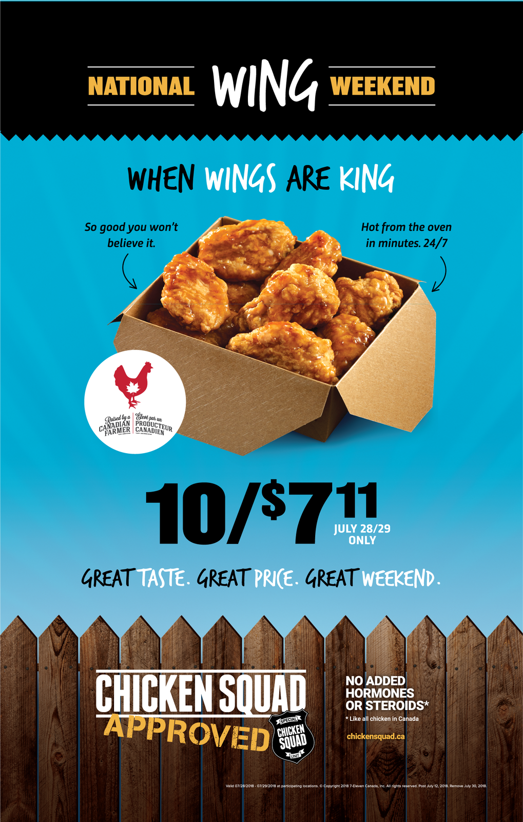 7 eleven canada wings blog special