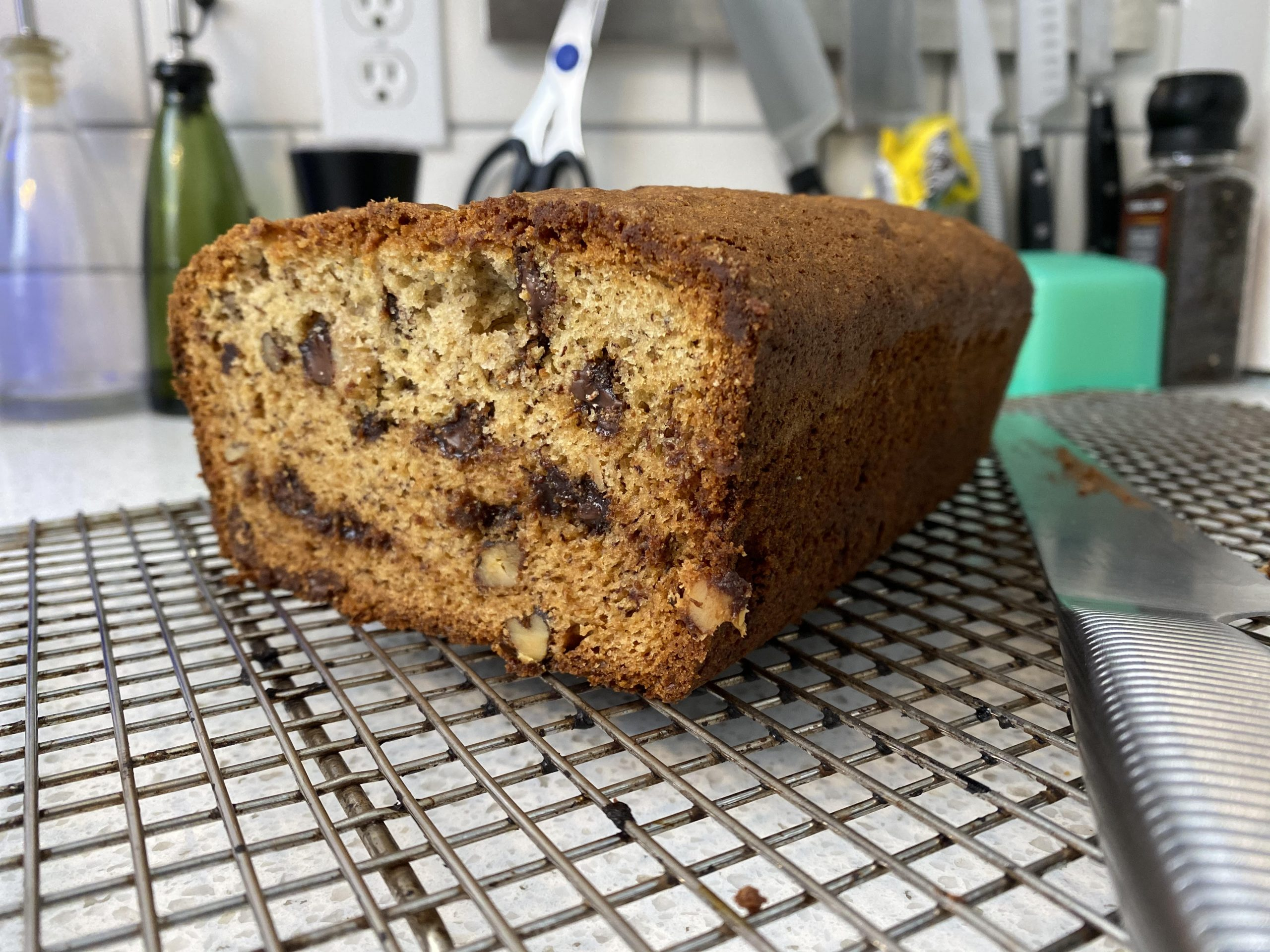 yeg recipes banana chocolate chip bread