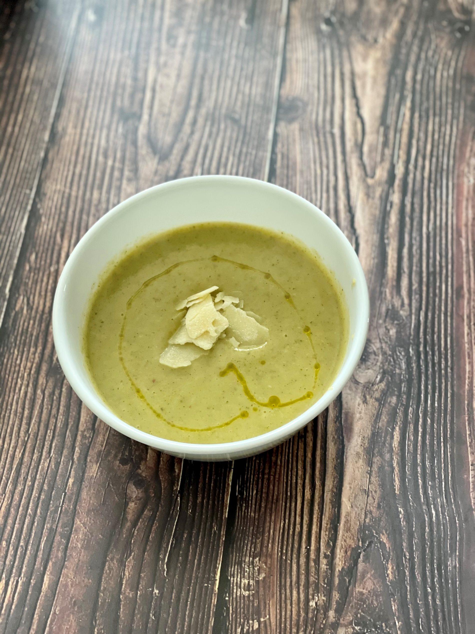 edmonton yeg creamy broccoli soup