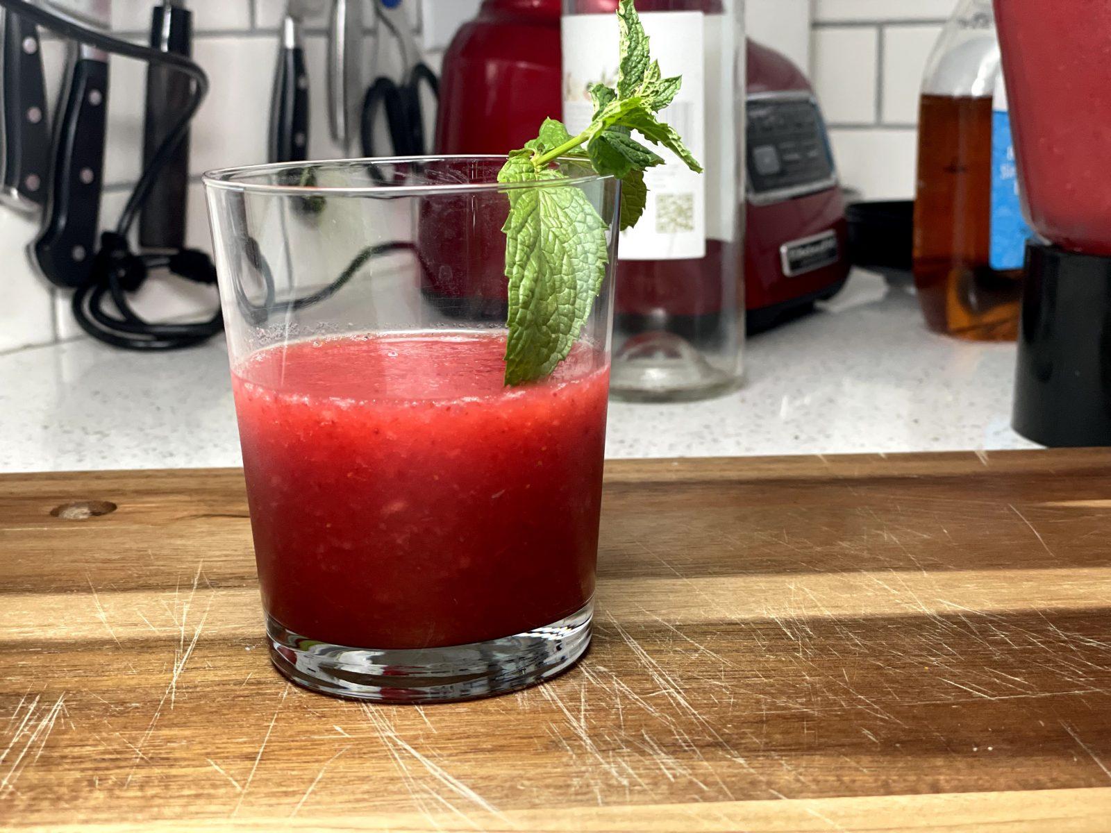 yeg frozen slush cocktail wine